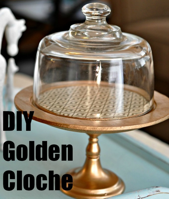DIY Cloche sidebar