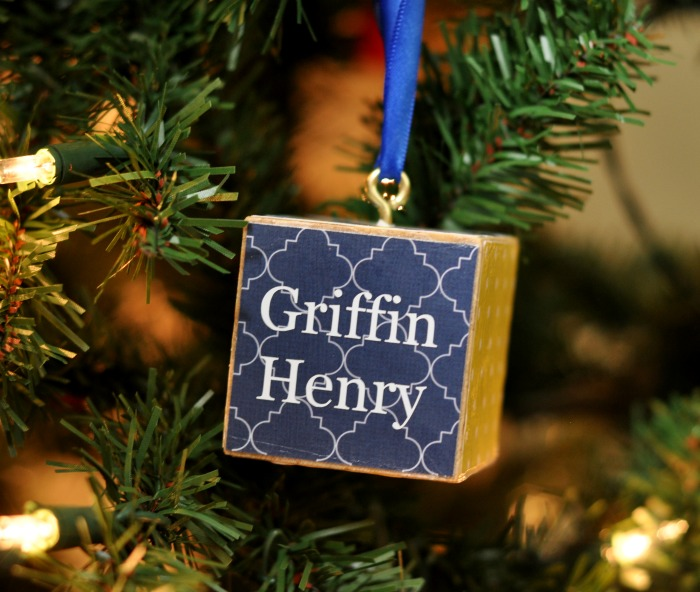 Personalized Block Ornament - Suburble