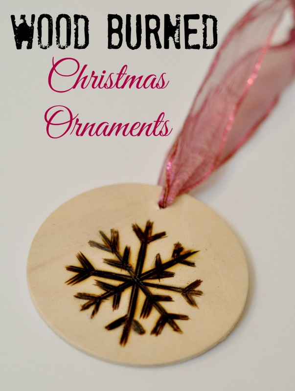 Wood Burned Christmas Ornaments - Suburble