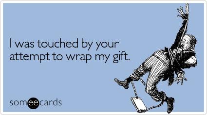 wrap gift ecard