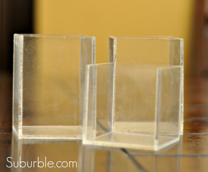 Acrylic Boxes -before - Suburble.com