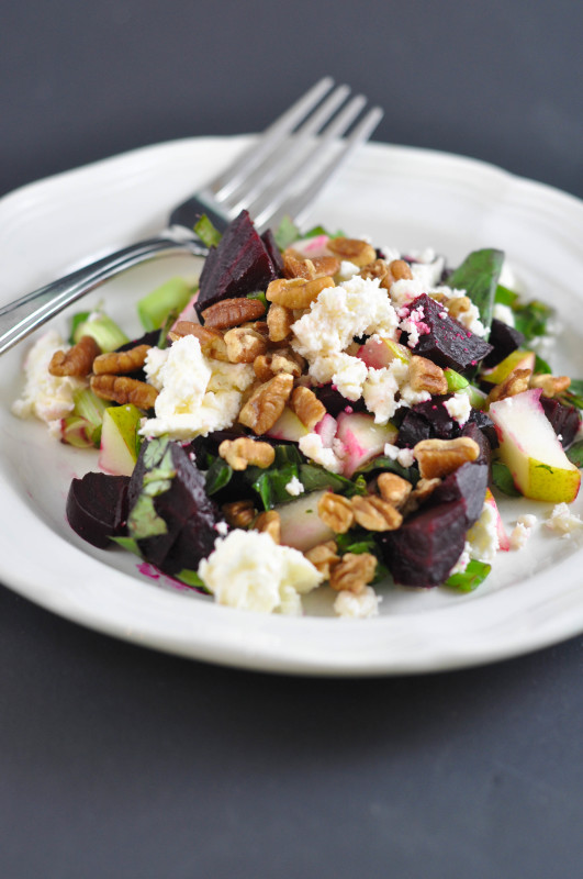 Beet, Pecan and Feta Salad Recipe - Suburble.com (1 of 1)