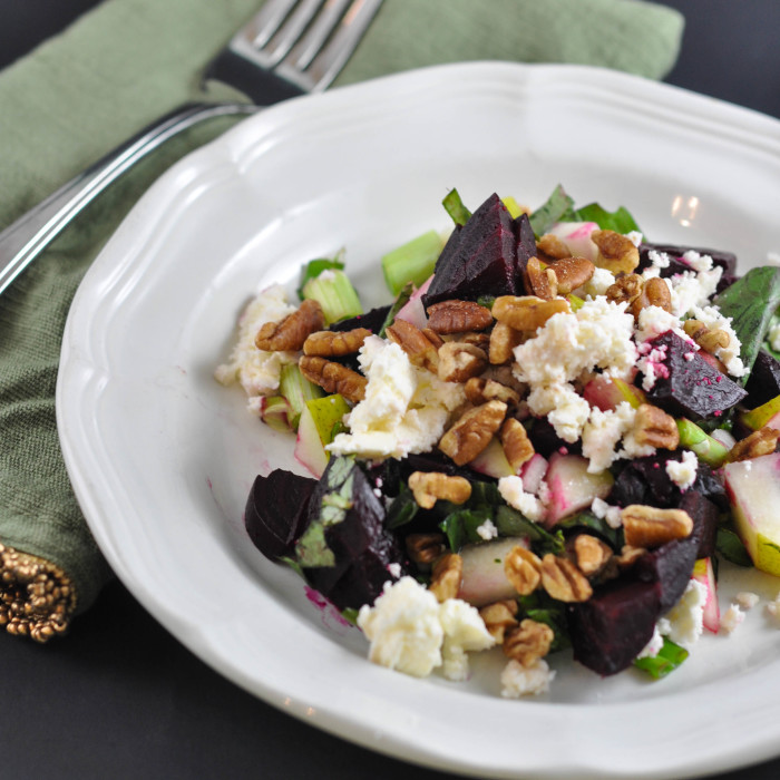 Beet, Pecan and Feta Salad - Suburble.com (1 of 1)