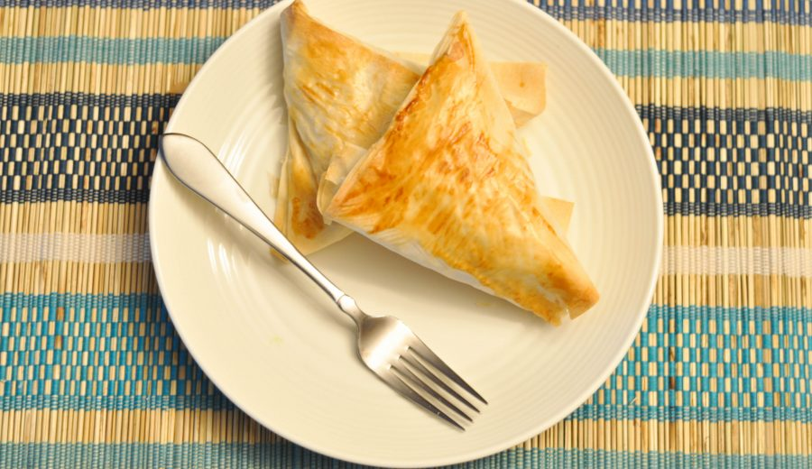 Make Samosas at home (using phyllo pastry!)