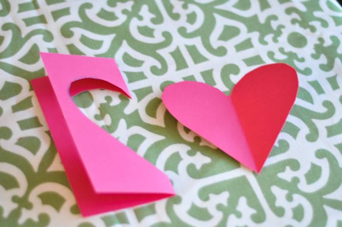 Heart Arrow Valentines - Cutting Out Hearts- Suburble.com (1 of 1)