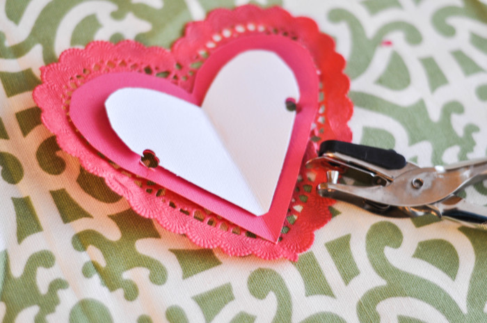 Heart Arrow Valentines - Hole Punch - Suburble.com (1 of 1)