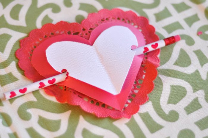 Heart Arrow Valentines - Pencil Arrows- Suburble.com (1 of 1)