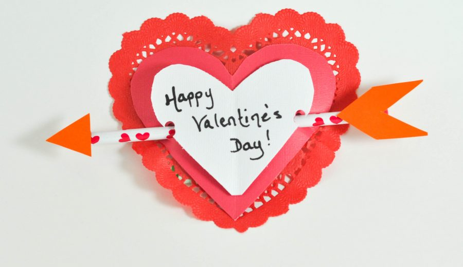 Easy Handmade Valentines (with a pencil-arrow!) – With the #MFB Collective