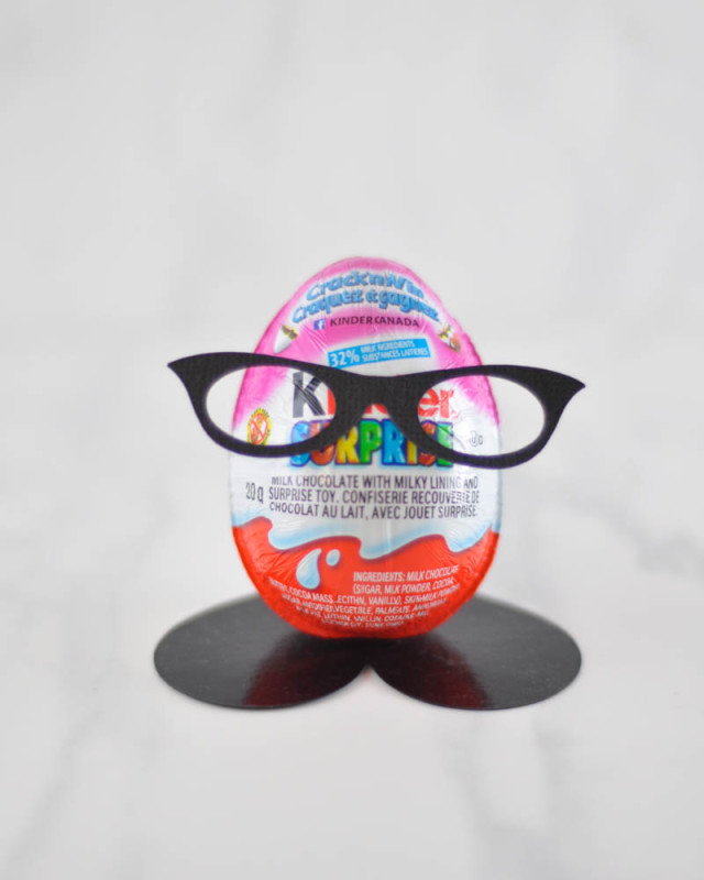 Kinder Egg-Head - Suburble.com (1 of 1)