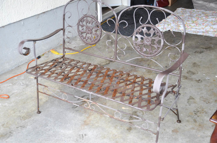 Modern Masters Bench (rusted heap of junk)  - Suburble.com (1 of 1)