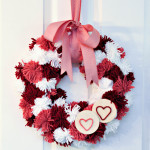 Adventures in Yarn: A Valentine's Pom-Pom Wreath