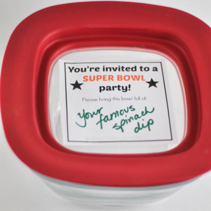 Rubbermaid Superbowl Invite- Suburble.com (1 of 1)
