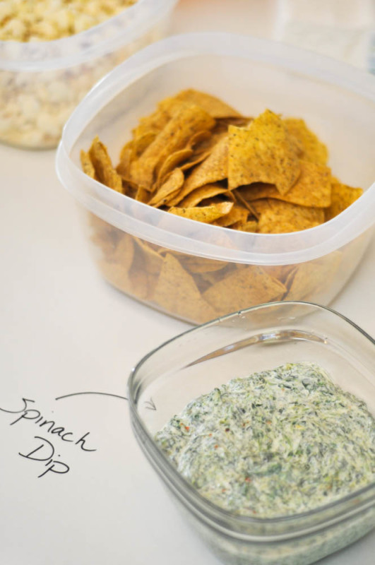 Rubbermaid Superbowl Party - Spinach Dip - Suburble.com (1 of 1)