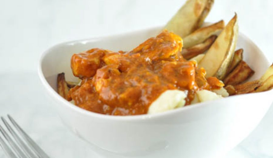 Butter Chicken Poutine – Oh yeah… it's that good…