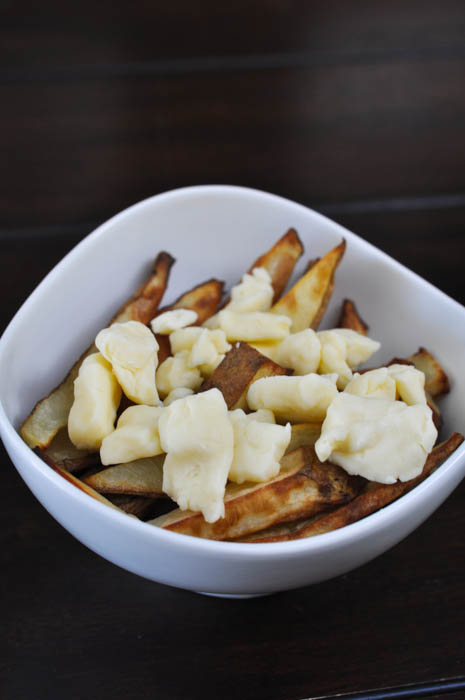 Homemade Fries with cheese curds - Suburble.com (1 of 1)