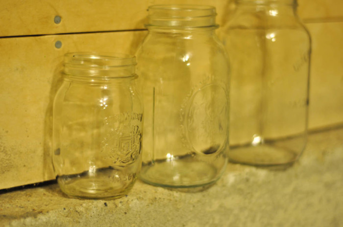 Mason Jars Before - Suburble.com (1 of 1)