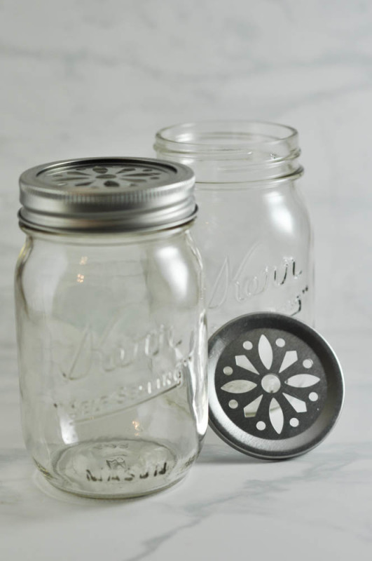 Mason Jars and Cut-out Lids - Suburble.com (1 of 1)