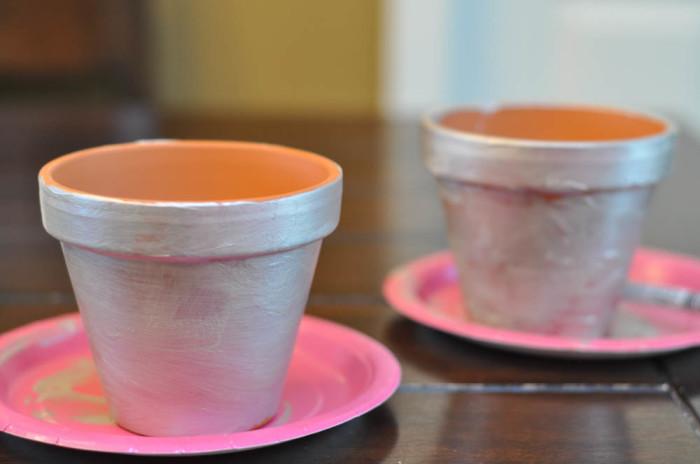 Painted Flower Pots - Dr. Seuss Craft  - Suburble.com (1 of 1)