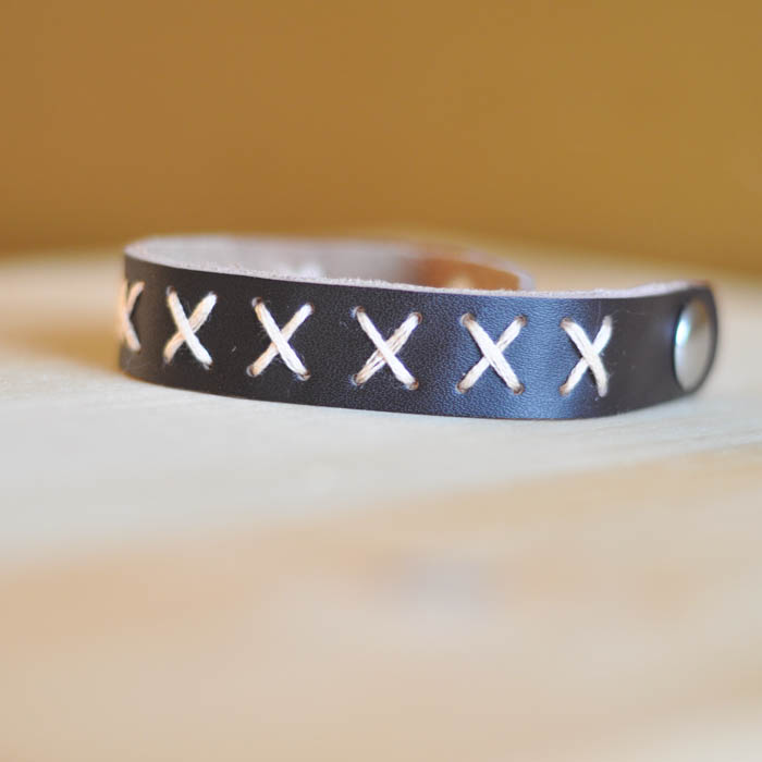 Criss-Cross Leather Cuff - Suburble.com (1 of 1)