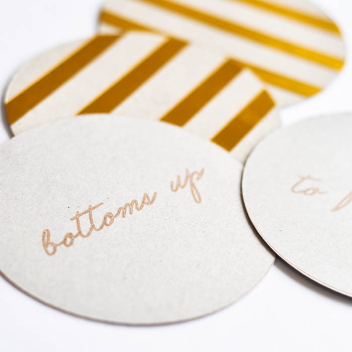 Kate Spade Inspired Coaster - Suburble.com (1 of 1)