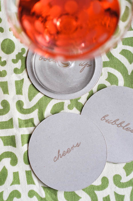 Kate Spade Inspired Coaster With Cut File - Suburble.com (1 of 1)