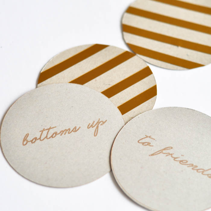 Kate Spade inspired coasters - Suburble.com (1 of 1)