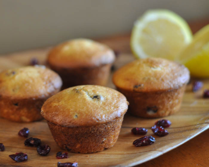Lemon Cranberry Muffin Recipe - Suburble.com (1 of 1)