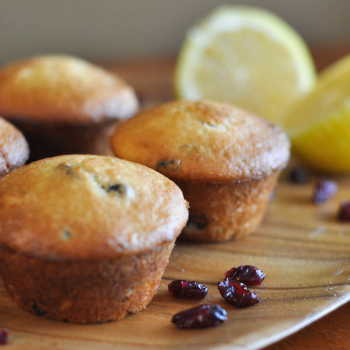 Lemon and Cranberry Muffin Recipe - Suburble.com (1 of 1)