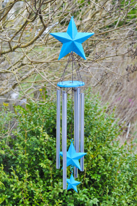 Painted Star Wind Chimes - Suburble.com (1 of 1)