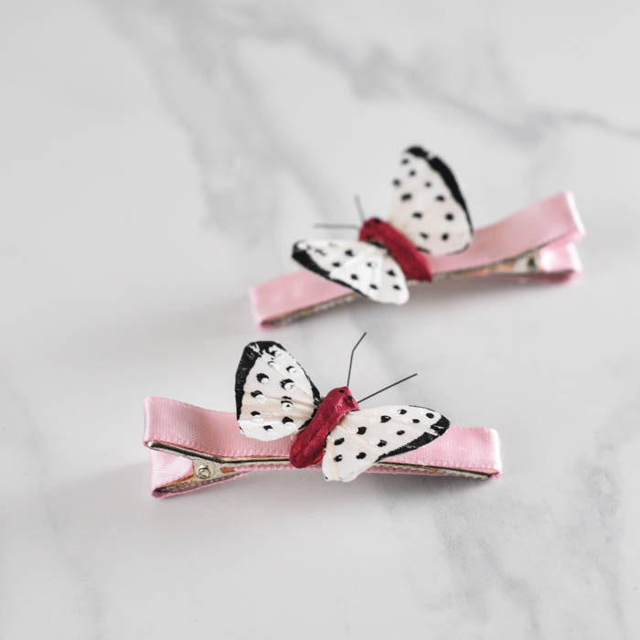 Simple Butterfly Barrettes -  Suburble.com (1 of 1)