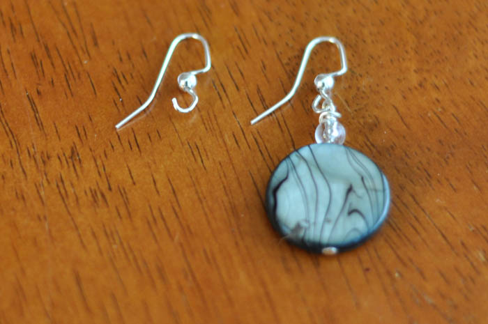 Blue Striped Earrings Step 5  - Suburble.com (1 of 1)