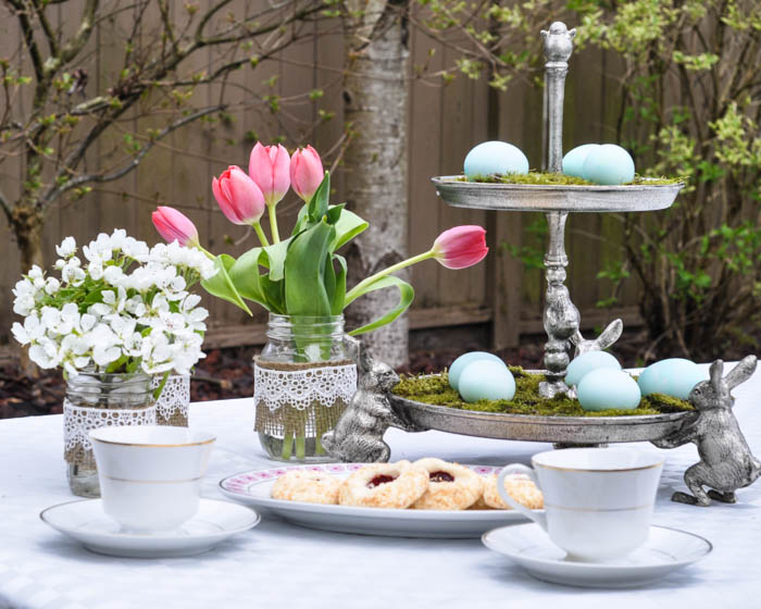 Easter Tea Party With Pottery Barn Centerpiece - Suburble.com (1 of 1)