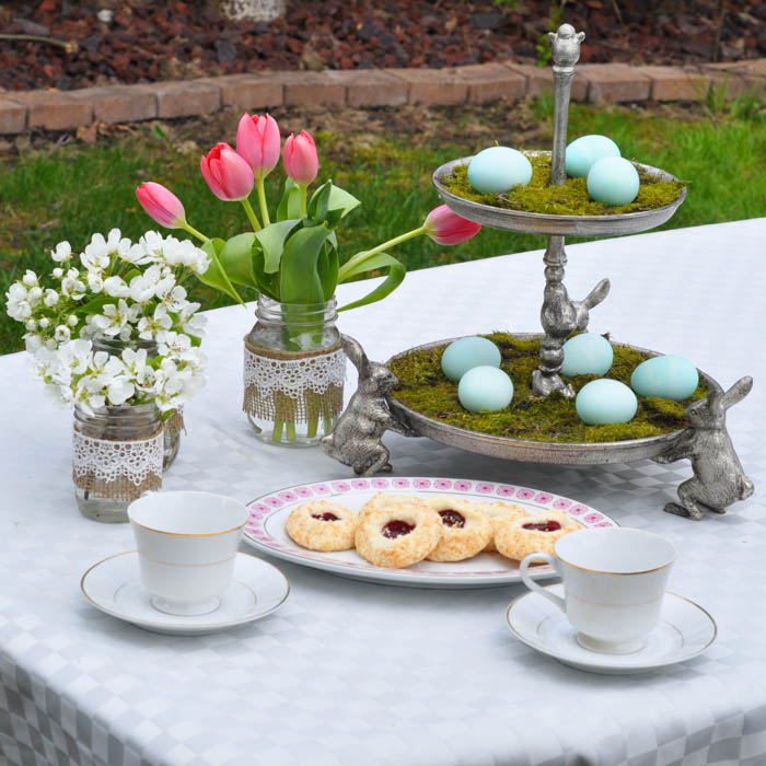 Easter Tea Party With Pottery Barn - Suburble.com (1 of 1)