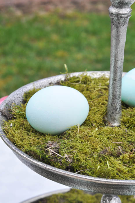 Moss and Egg Centerpiece - Suburble.com (1 of 1)