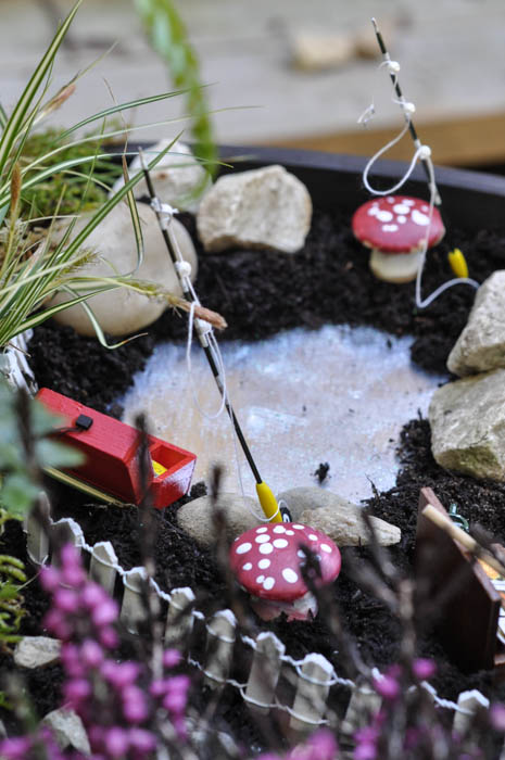 A Fairy Garden with a pond - Suburble  (1 of 1)