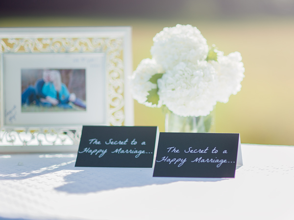 Use notecards as a guest book alternative - Suburble.com