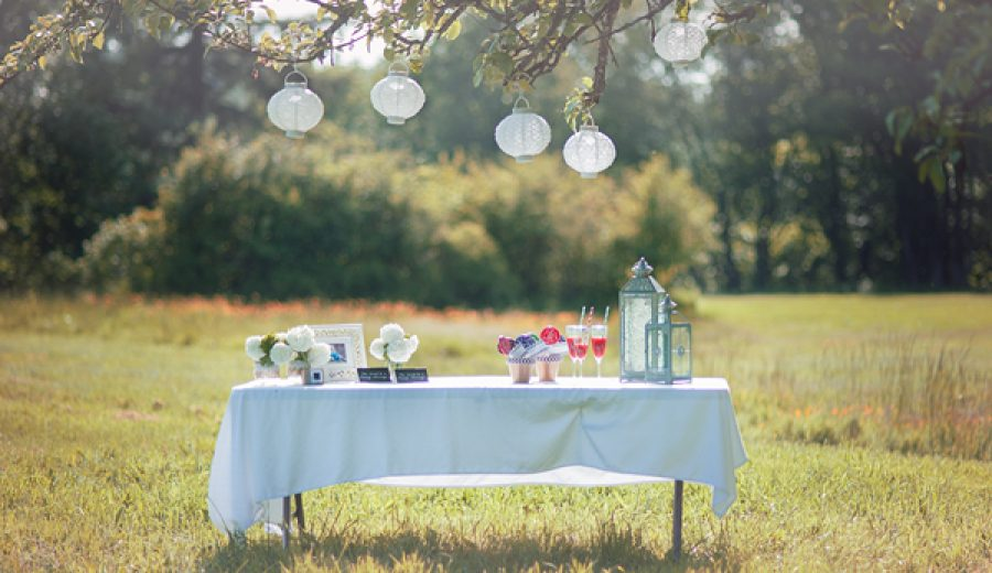 Styling a Rustic Wedding Reception