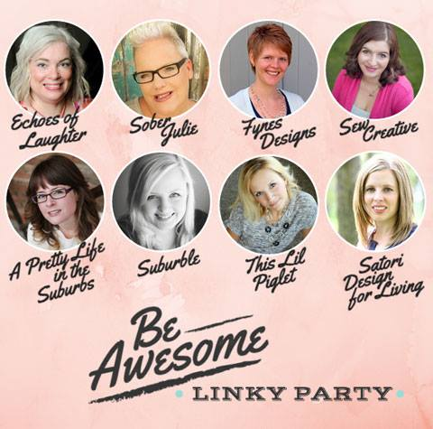Be Awesome Link Party