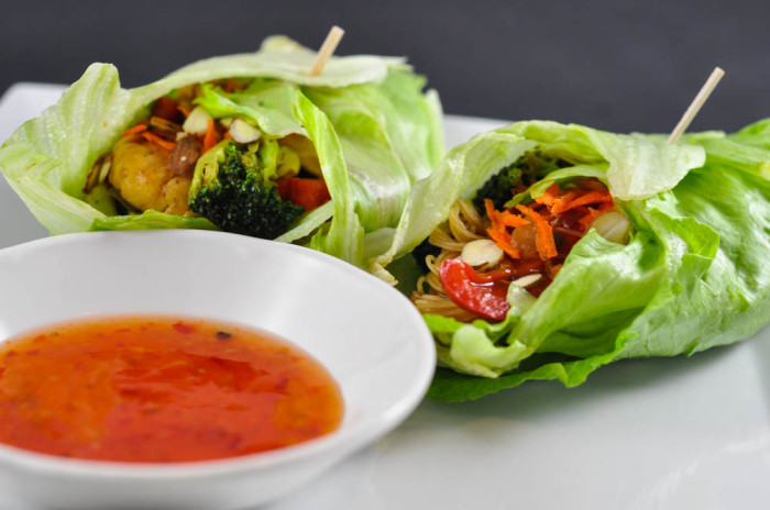Honey Teriyaki Lettuce Wrap Recipe - Suburble.com (1 of 1)
