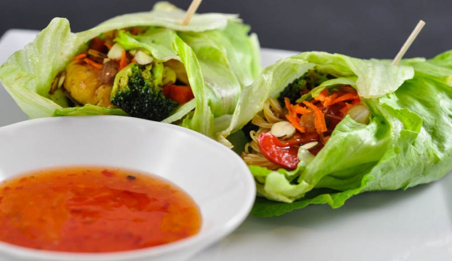 Lettuce Wraps – Why not have two?