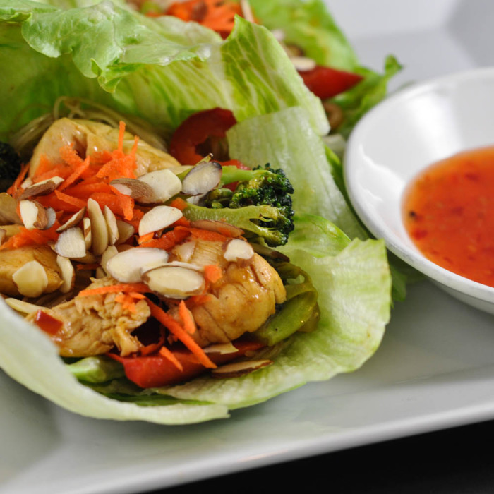 Honey Teriyaki Lettuce Wraps Recipe - Suburble.com (1 of 1)