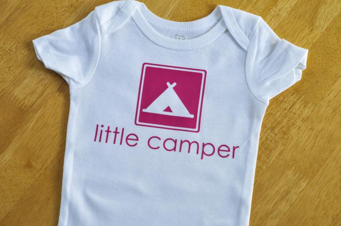 Little Camper Onesie - Suburble.com (1 of 1)