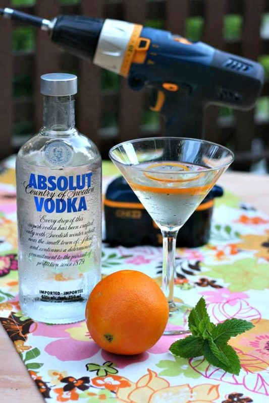 Maker's Martini