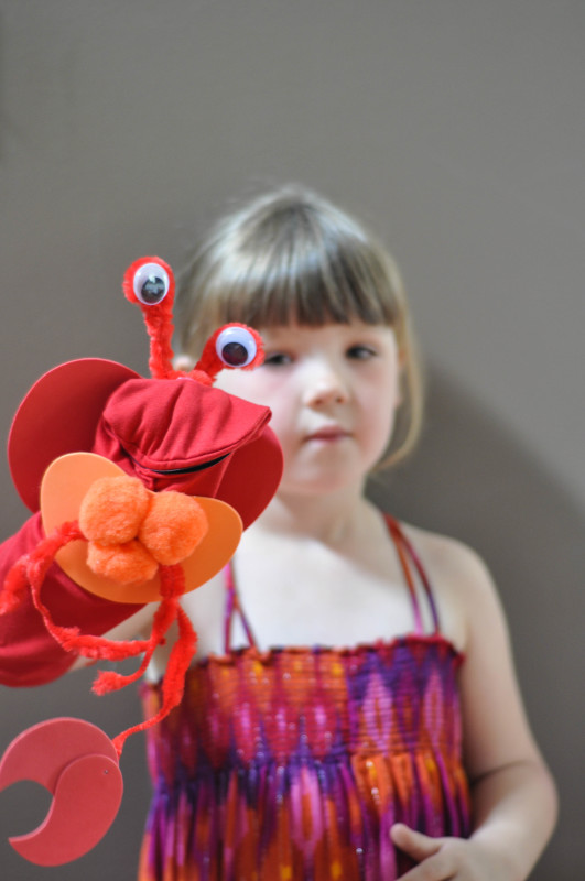 Puppet Play with the Crab - Suburble.com (1 of 1)