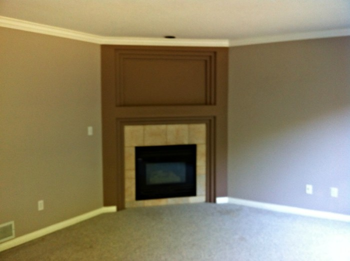 Family Room Blurry - Before