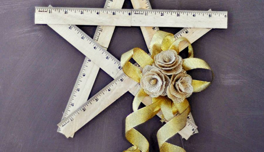A Ruler Star – for the teacher (or math lover) in your life