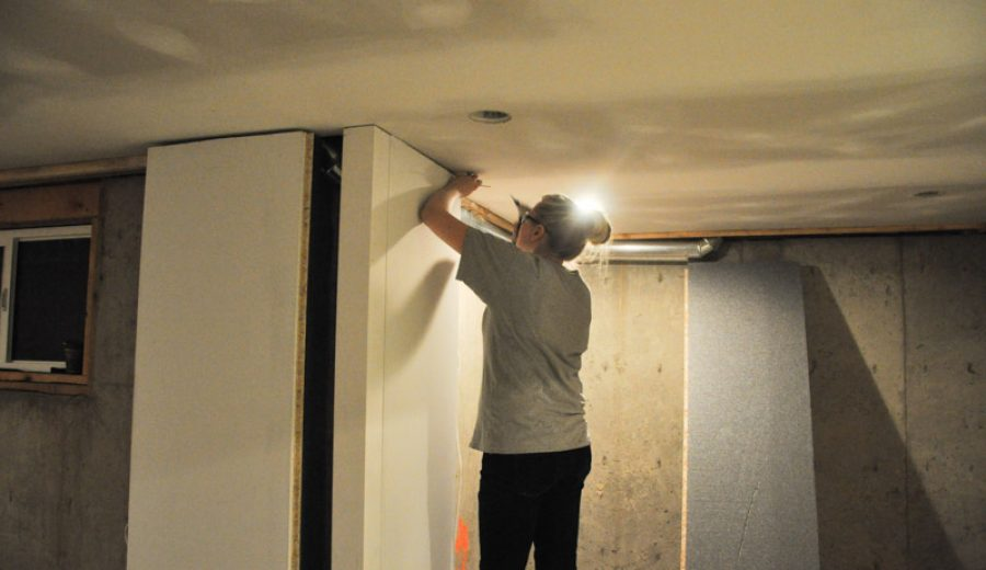 The Basement Project: Installing DRIcore SMARTWALL