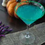 A Witches' Brew Martini