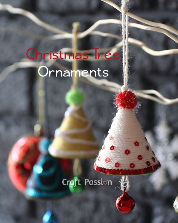 30 kid friendly handmade christmas ornaments suburble for Homemade christmas ornaments to make