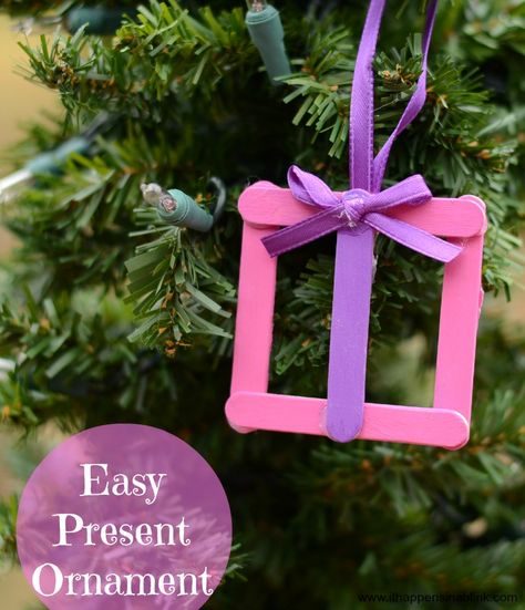 Easy Present Ornament